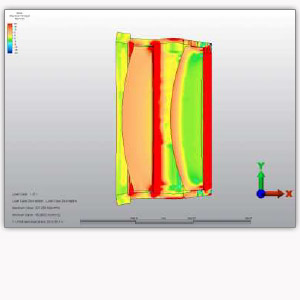 Finite element analyses (FEA) Optec